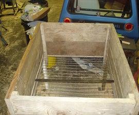 Self-Harvesting Vermi-Compost Bin