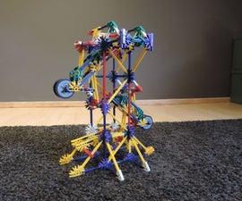 Knex Ball Machine Element: No-axle Arm Drop