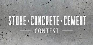 Stone Concrete and Cement Contest