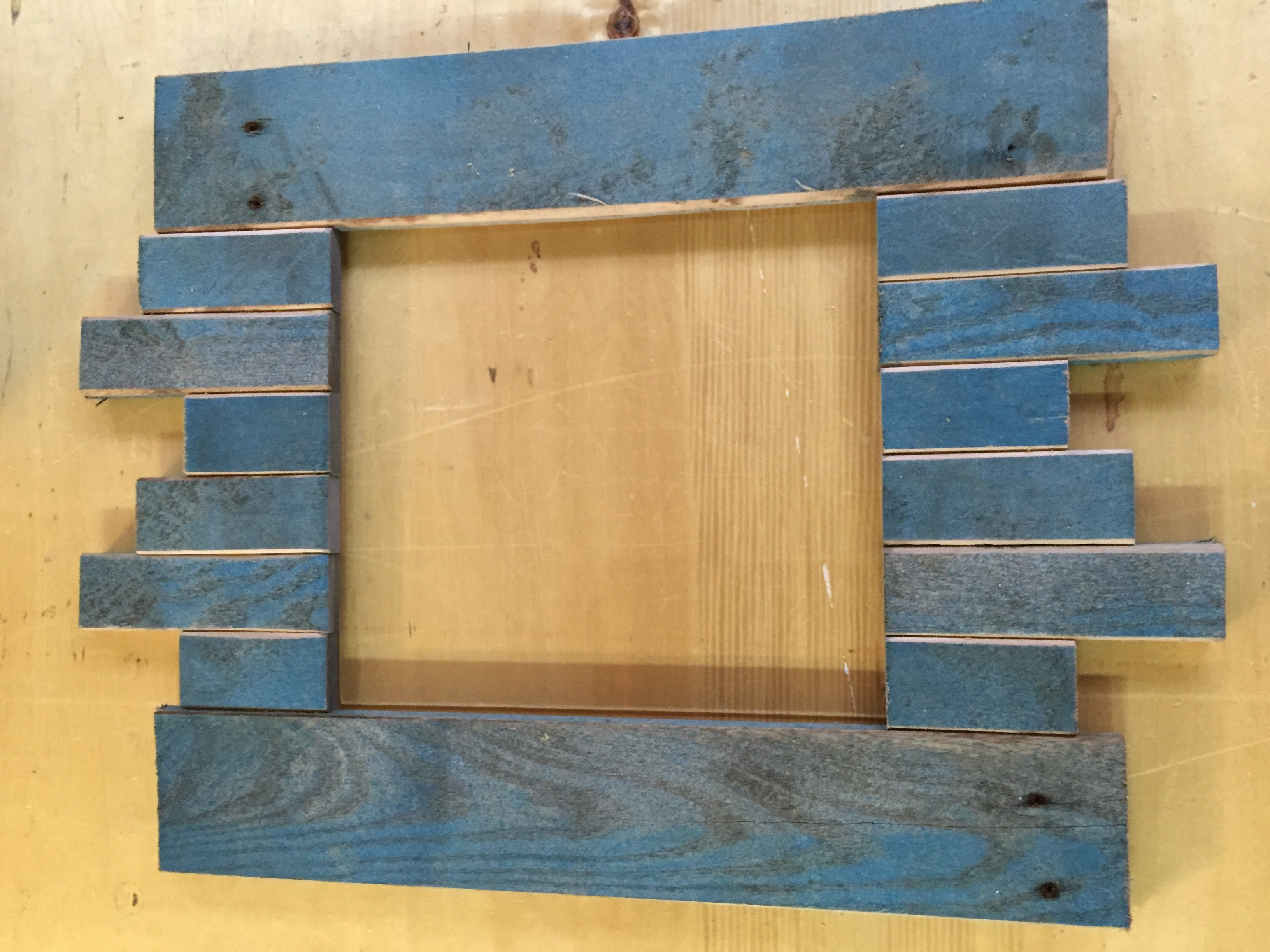 Picture of Pallet Resurrection Picture Frame