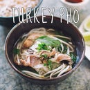 Turkey Pho from Thanksgiving Leftovers