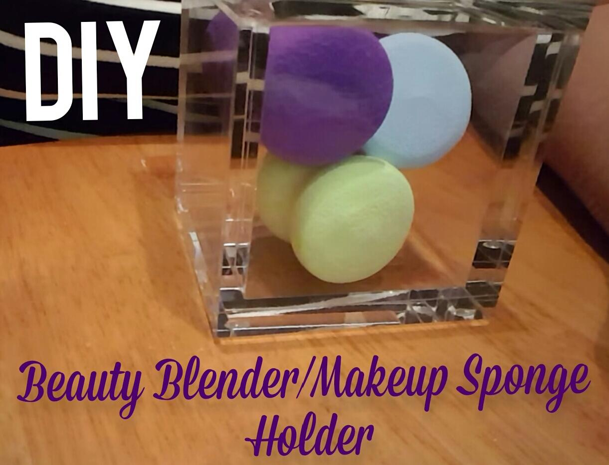 Picture of DIY Beauty Sponge Holder