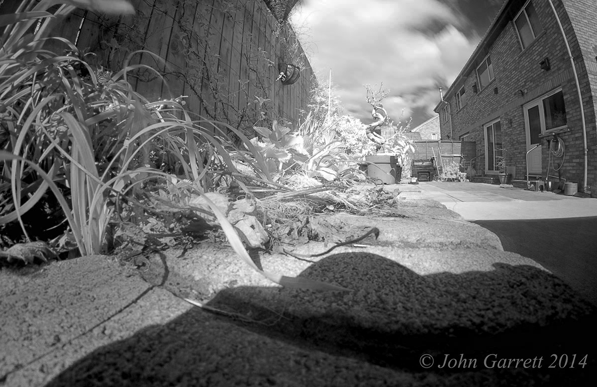 Picture of SHOOTING INFRARED USING a FUJI X-PRO1 WITH a SAMYANG 8MM F2.8 FISHEYE LENS