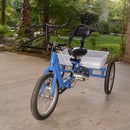 Steering Assisted Adaptive Trike