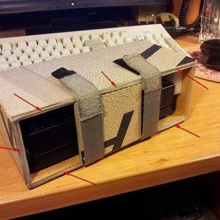 Elecraft KX3 Cardboard Desk Stand