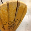 Wooden paddle repair