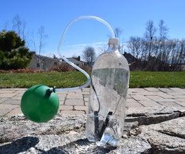 Explosive Water Through Electrolysis