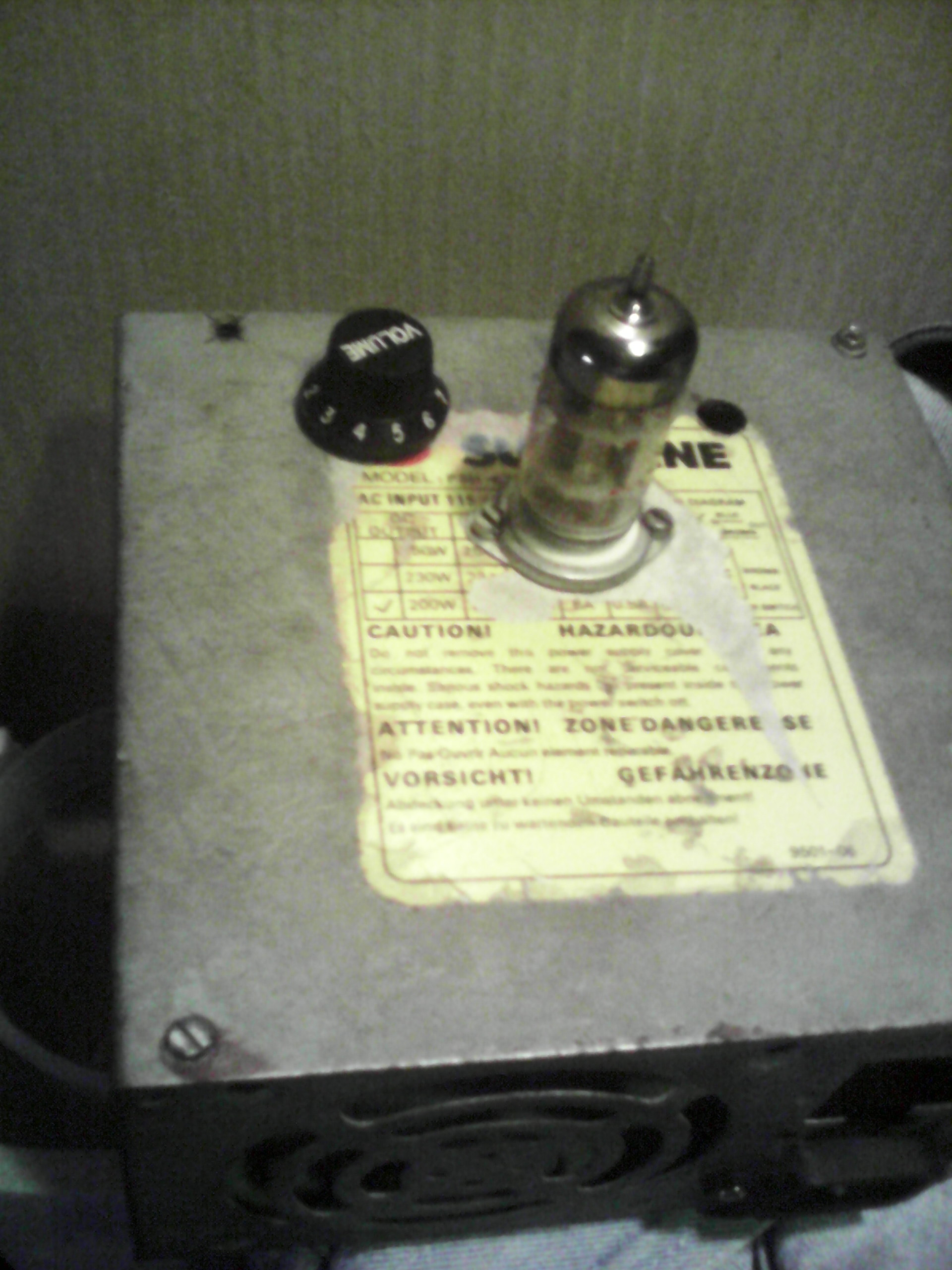 Picture of Valvecaster Overdrive + a Little Mod