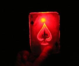 X-Men Series - Gambit - Make a Glowing Playing Card