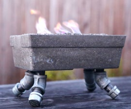 Capstone Project - Tabletop Fireplace