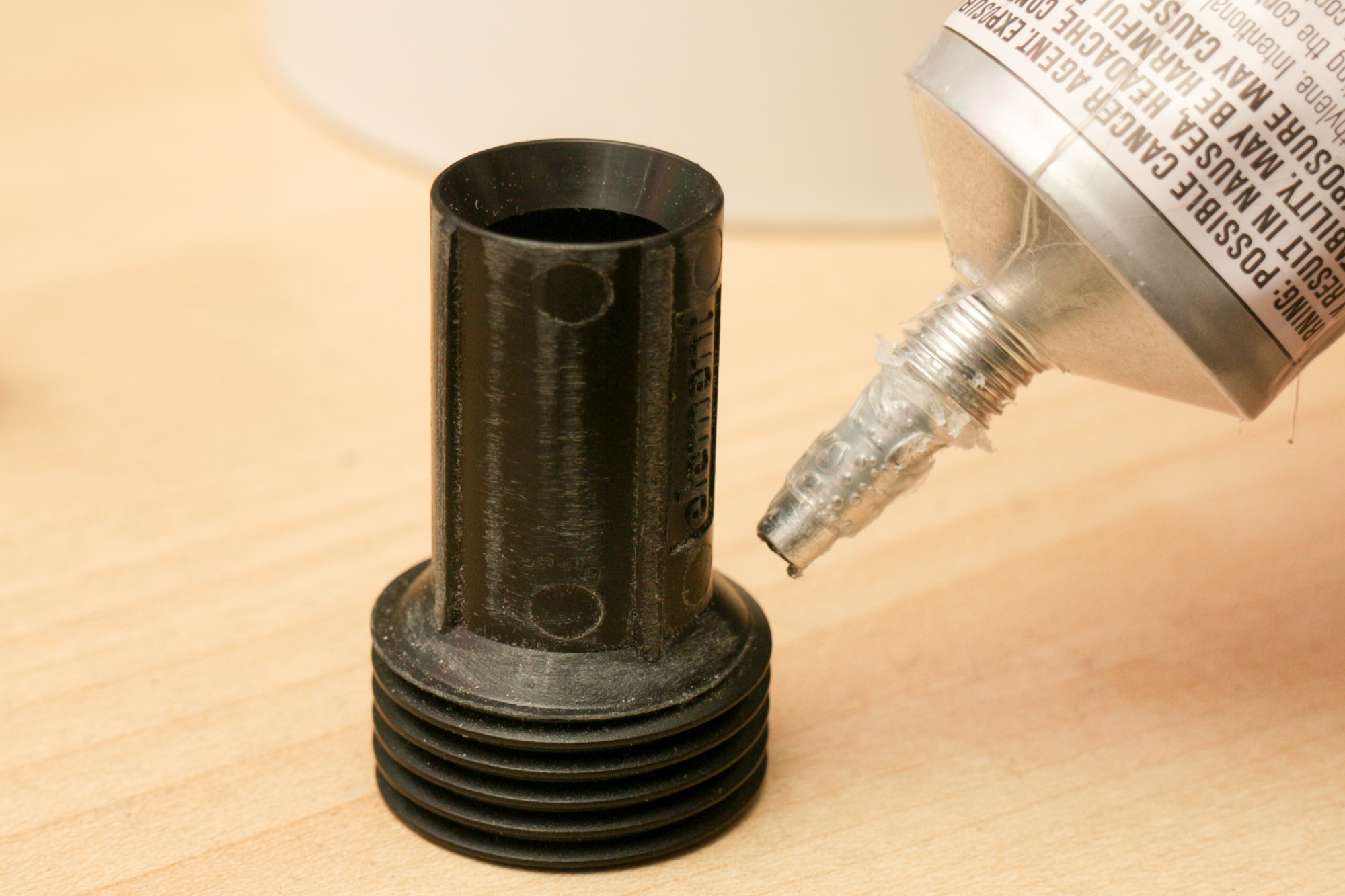 Picture of Gluing the Connector