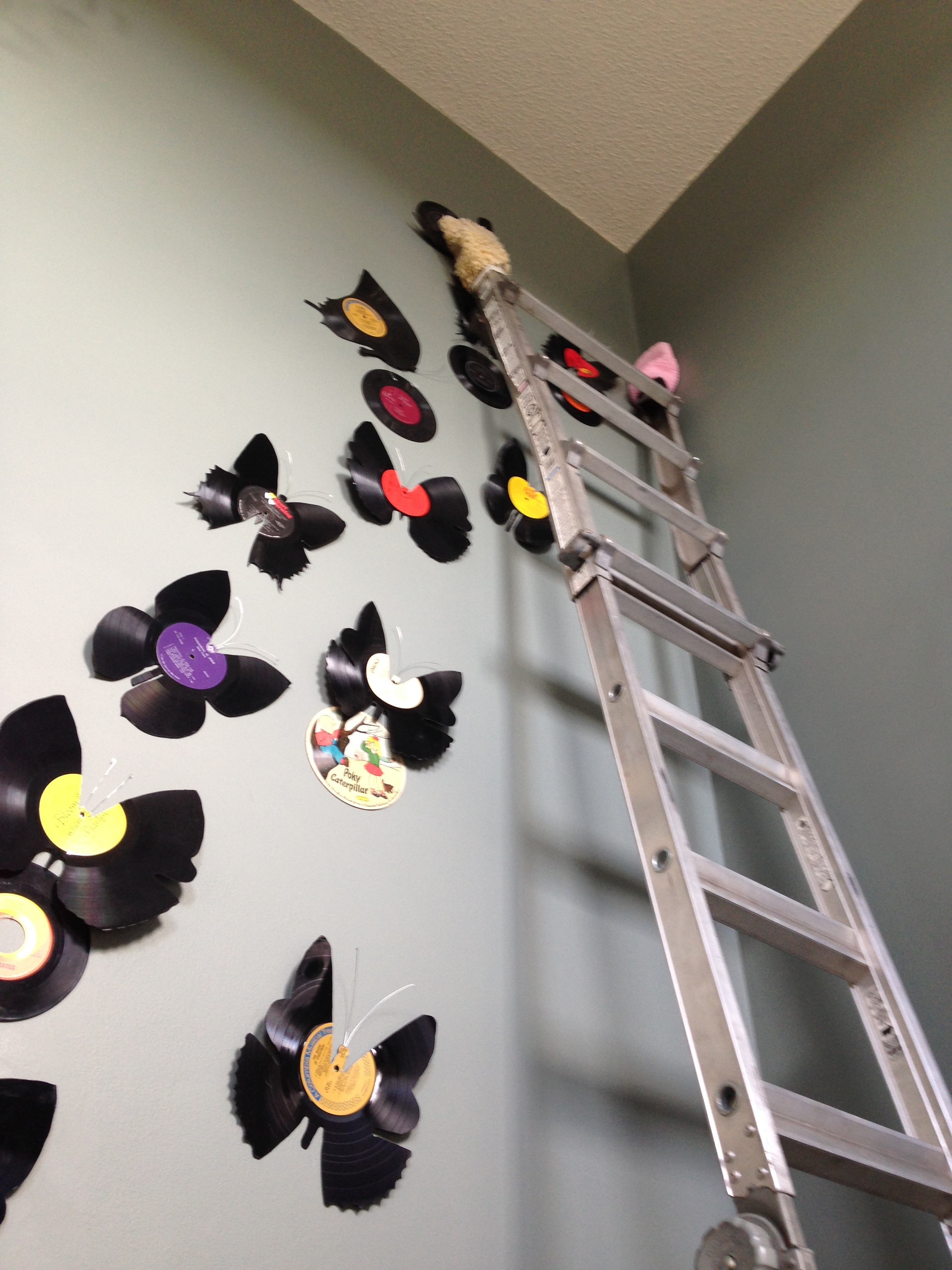 Picture of Vinyl Butterfly Wall Art