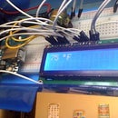 Arduino LCD Thermometer