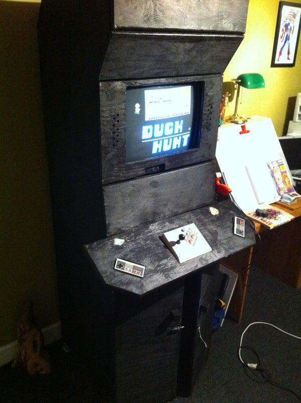 Nes Arcade Cabinet