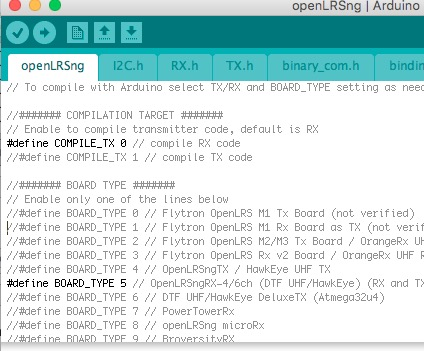Picture of Installing OpenLRS Software on Arduino