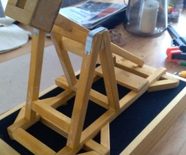 Motorised Trebuchet Controlled by Arduino Uno