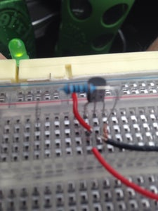 Add the 100R Resistor