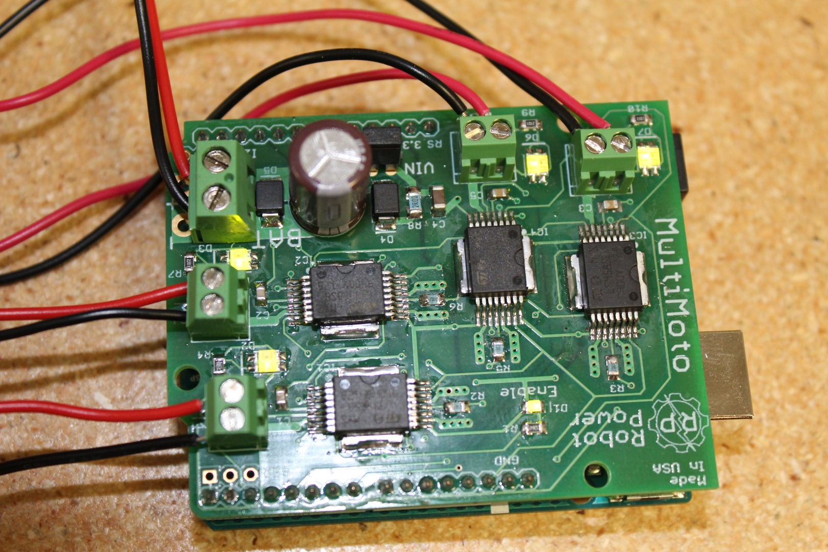 Picture of Wiring the Board