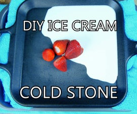 DIY Ice Cream Cold Plate w/ Frying Pan