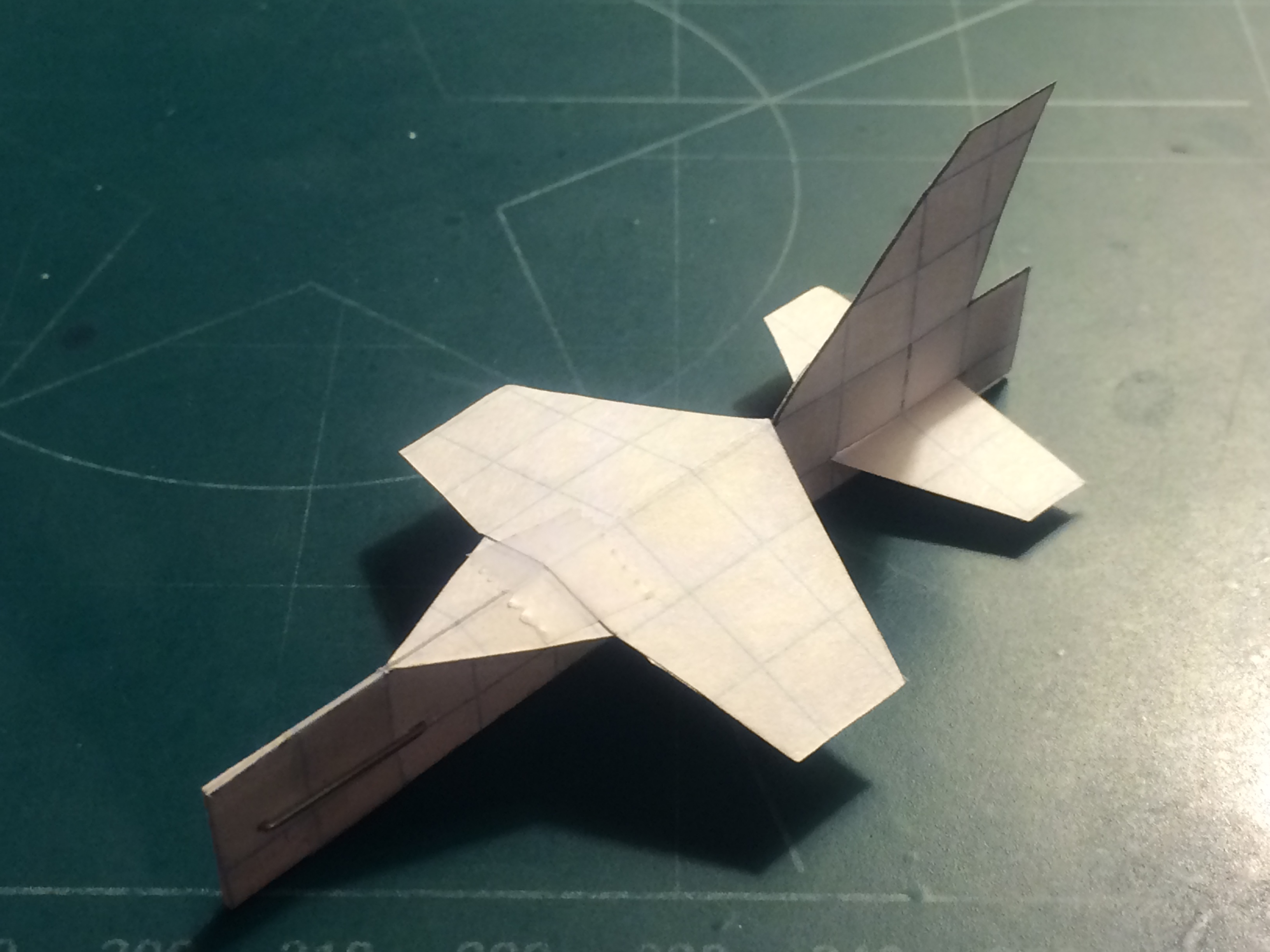 Picture of How to Make the Lancer Paper Airplane