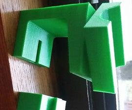 3D Printed Kayak Paddle Holder