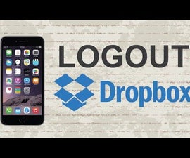 How to logout of Dropbox Mobile App