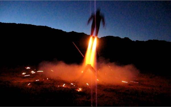 Iron Man Model Rocket