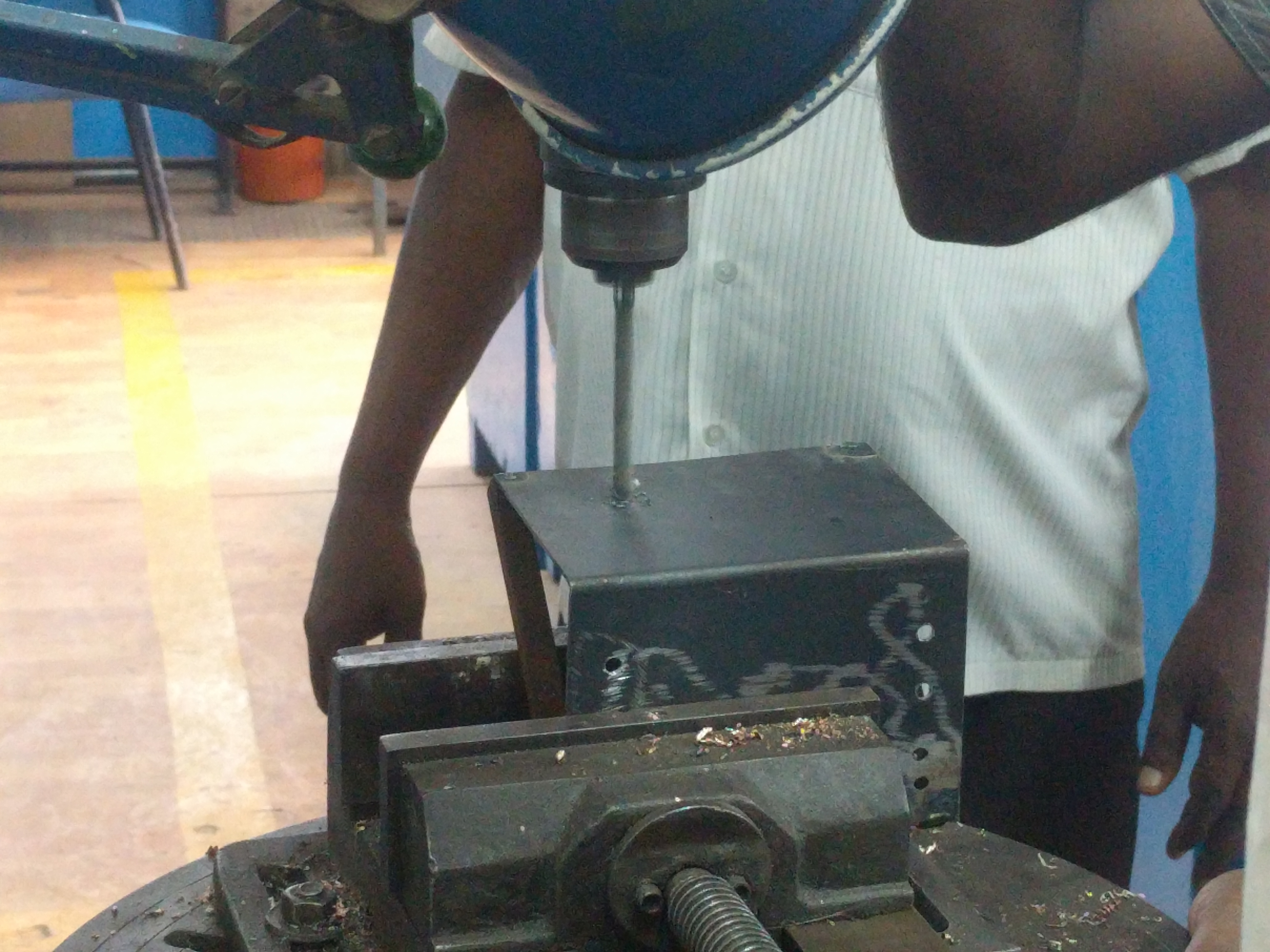 Picture of Actuator Assembly and Plate Fabrication