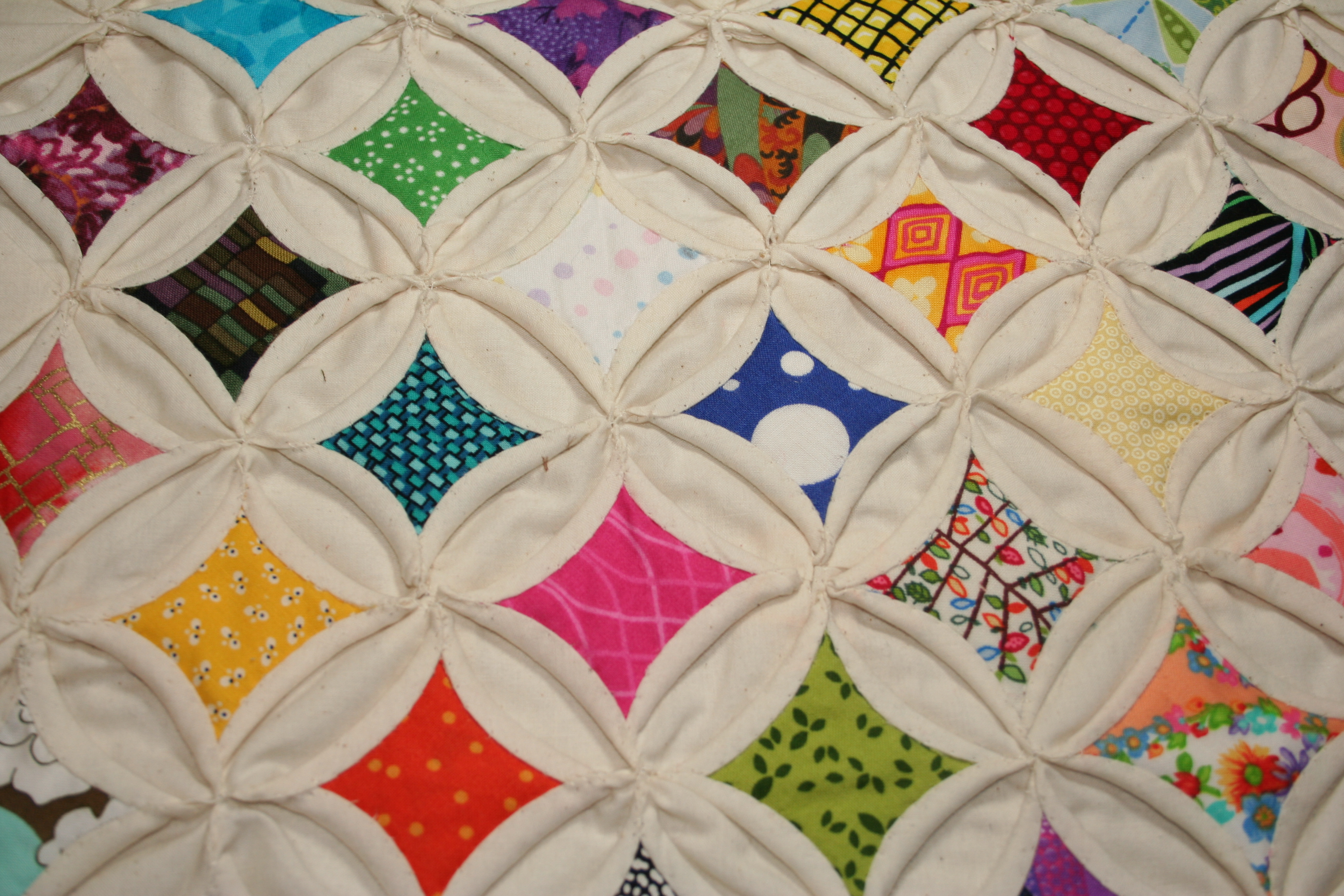 CATHEDRAL WINDOW QUILT INSTRUCTIONS