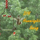 Easy DIY Hummingbird Swing