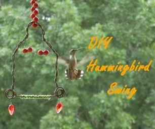 Easy DIY Hummingbird Swing
