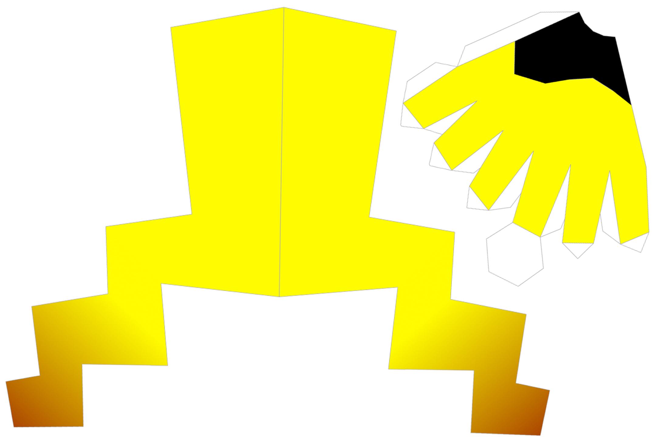 Pikachu Tail Template Natashamillerweb