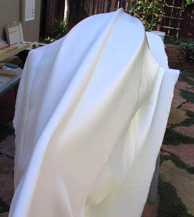 Picture of Drape Your Fabric Over the Inverted Boat