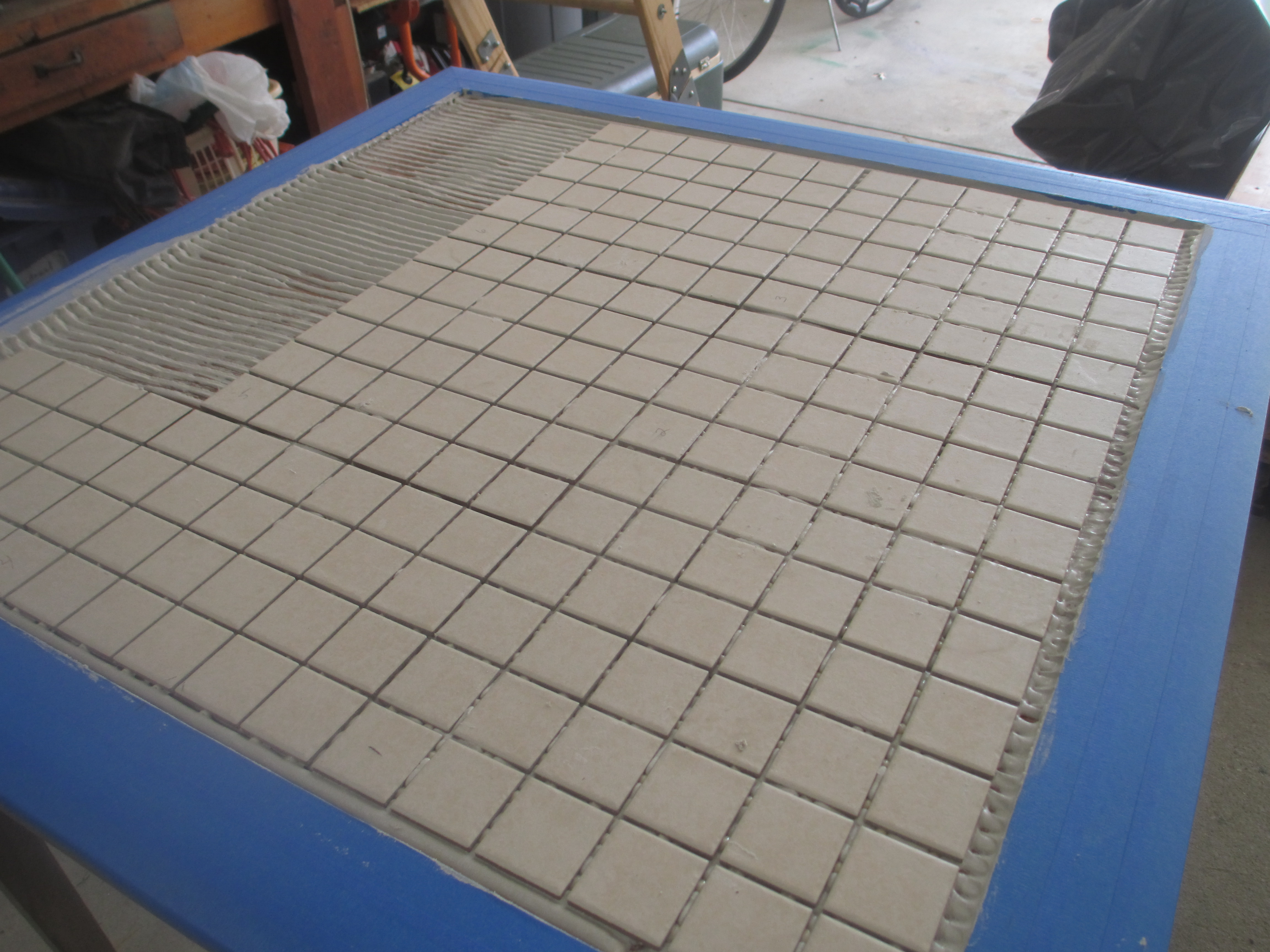 Picture of Apply Mortar and Tiles