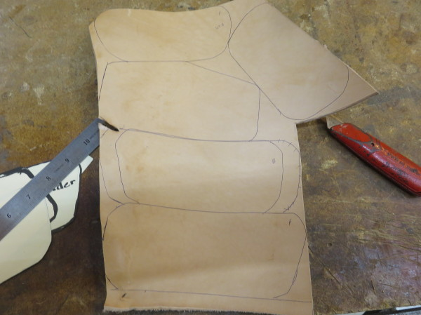 Picture of Cutting Out the Pattern