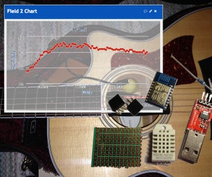 HumiGit - Guitar Hygrometer Cloud Logger