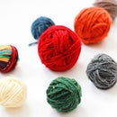 DIY Faux Yarn Balls