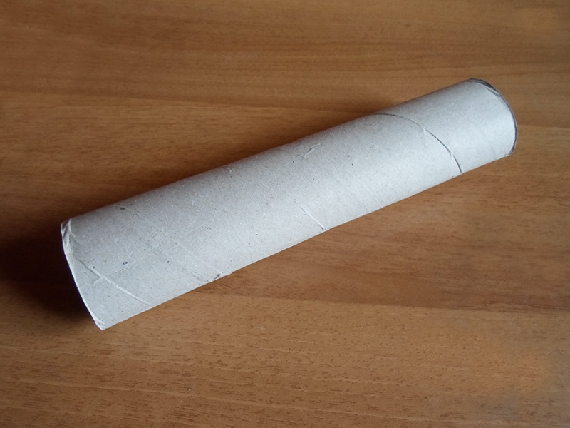 Picture of Divide the Paper Roll in Sections