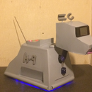 Cardboard Radio Controlled K-9, that Talks