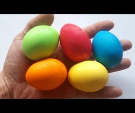 How to Color Easter Eggs
