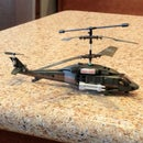 Flying a 3 channel RC (gyro) Helicopter.
