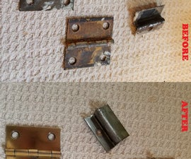 How to Clean Old Metal Fixtures