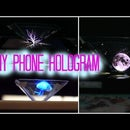 DIY Phone Hologram (without a cd case)