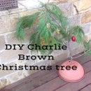 Charlie Brown Christmas Tree Homemade