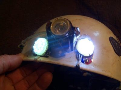 Cheap LED Flashlight to Headlamp Conversion