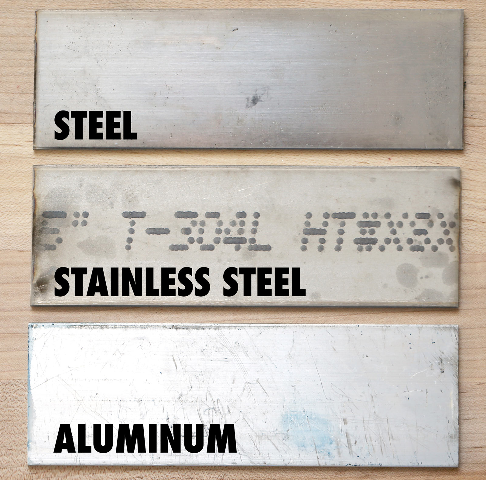 Metalworking tools and materials the most common types of metal you will encounter while doing metalworking are steel stainless steel and aluminum urtaz Image collections