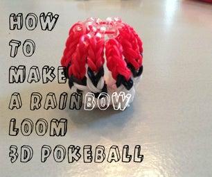 Rainbow Loom 3D Pokeball