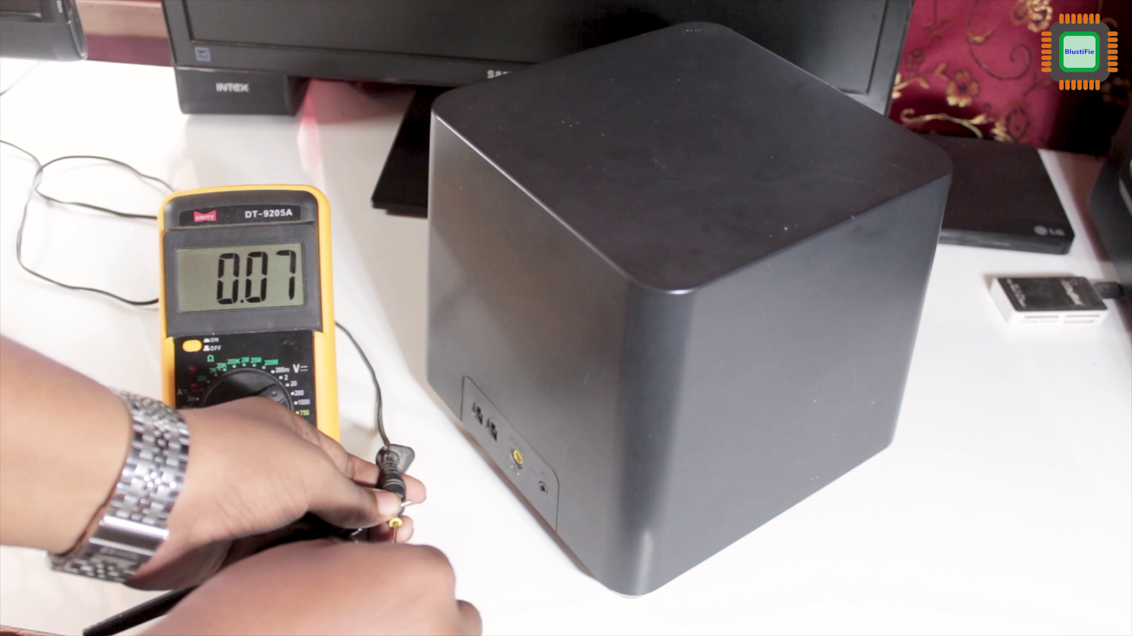 Picture of Check the Voltage With Multimeter