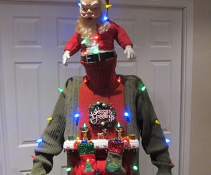 UGLY CHRISTMAS SWEATER DIY (Stuck in the Chimney 2012)