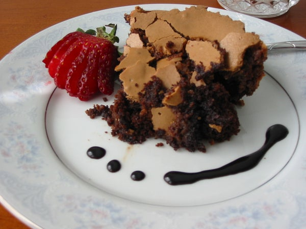 The BEST Cake Known to Man (Gooey Chocolate Cake)